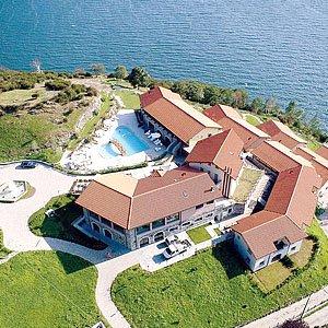 Bild zeigt eine Ferienanlage.